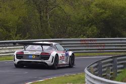 #97 Phoenix Racing Audi R8 LMS: Dennis Rostek, Luca Ludwig, Marc Bronzel, Markus Winkelhock