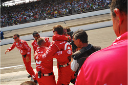 Target Chip Ganassi Racing celebrates
