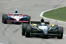 Tomas Scheckter, Dreyer & Reinbold Racing, Milka Duno, Dale Coyne Racing