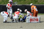 Valentino Rossi, Fiat Yamaha Team crashes
