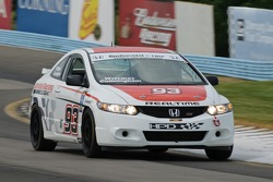 #93 Realtime Racing Honda Civic Si: Kuno Wittmer, Peter Cunningham