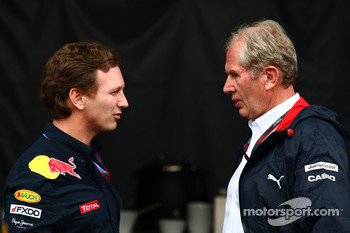 Christian Horner, Red Bull Racing, Sporting Director and  Dr. Helmut Marco, Red Bull Racing