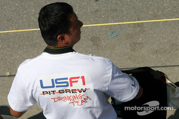 US F1 Team fan