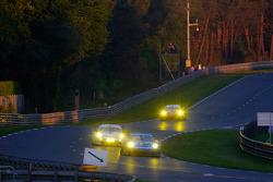 #77 Team Felbermayr-Proton Porsche 911 GT3 RSR: Marc Lieb, Richard Lietz, Wolf Henzler