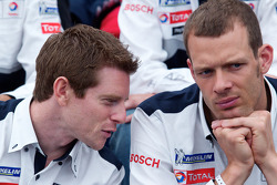 Team Peugeot press conference: Anthony Davidson and Alexander Wurz