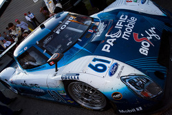 The third place #61 AIM Autosport