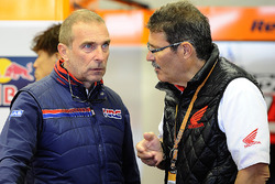 Livio Suppo, Team Principal of the Repsol Honda Team, Carlo Fiorani