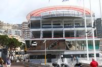 Formula 1 Foto - Pit building