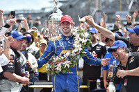 IndyCar Foto - Alexander Rossi, Herta - Andretti Autosport Honda, vincitore della gara