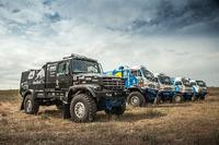 De nieuwe truck van het Kamaz Master Team