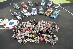 Alle Fahrer beim Motorsport Festival
