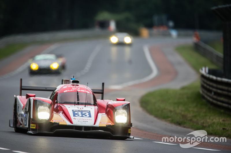 11. LMP2: #33 Eurasia Motorsport, Oreca 05 Nissan