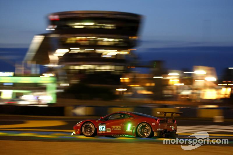 #82 Risi Competizione, Ferrari 488 GTE