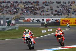 Andrea Iannone, Ducati Team and Marc Marquez, Repsol Honda Team