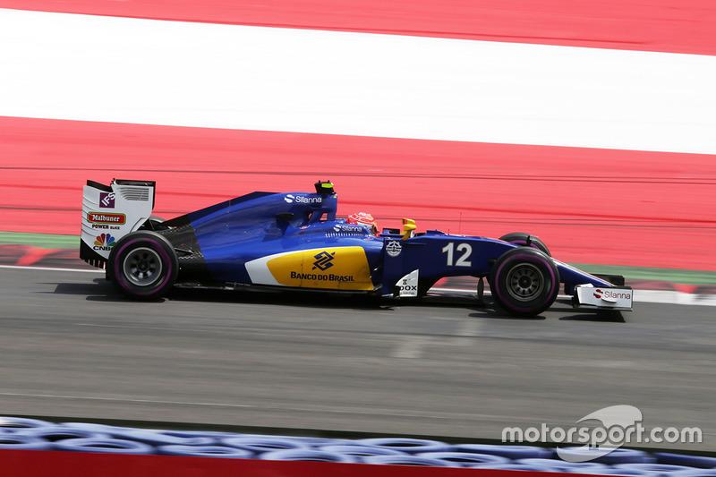 22: Феліпе Наср, Sauber C35 (покарання - три місця на стартовій решітці)