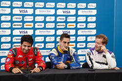 Drivers Press Conference: Lucas di Grassi, ABT Schaeffler Audi Sport; Sébastien Buemi, Renault e.Dams; Sam Bird, DS Virgin Racing