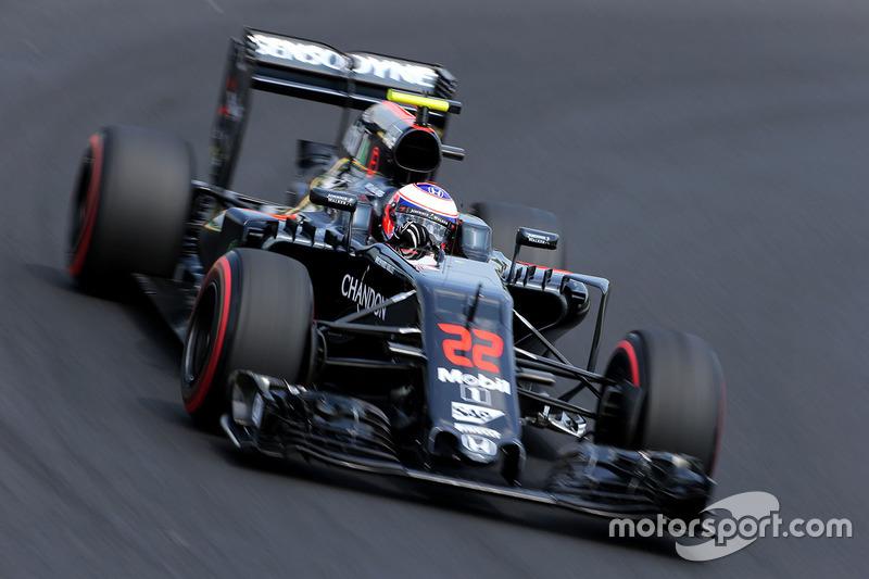 22. Jenson Button, McLaren MP4-31 (ausgefallen)