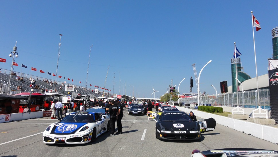 2011 Ferrari Challenge Toronto