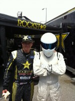 Stig @ rallycross X-Games
