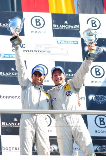 ADAC GT Masters Race 1 - The 2011 Champions Dino Lunardi and Alexandros Margaritis