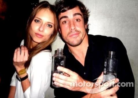 DASHA KAPUSTINA & Fernando Alonsos