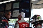 Audi huddle - Petit Le Mans