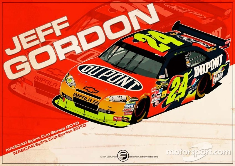 Jeff Gordon - NASCAR 2010