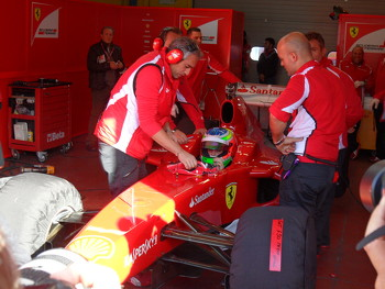 Vallelunga Ferrari Driver Accademy Test 2012