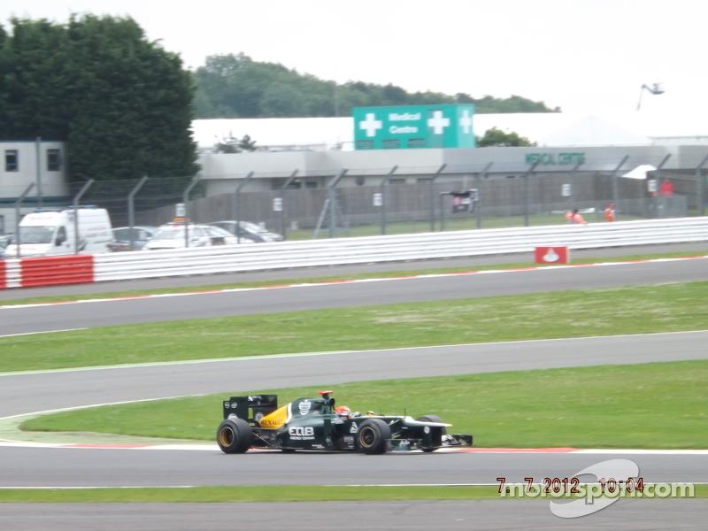 Heikki Kovalainen Caterham F1 Team