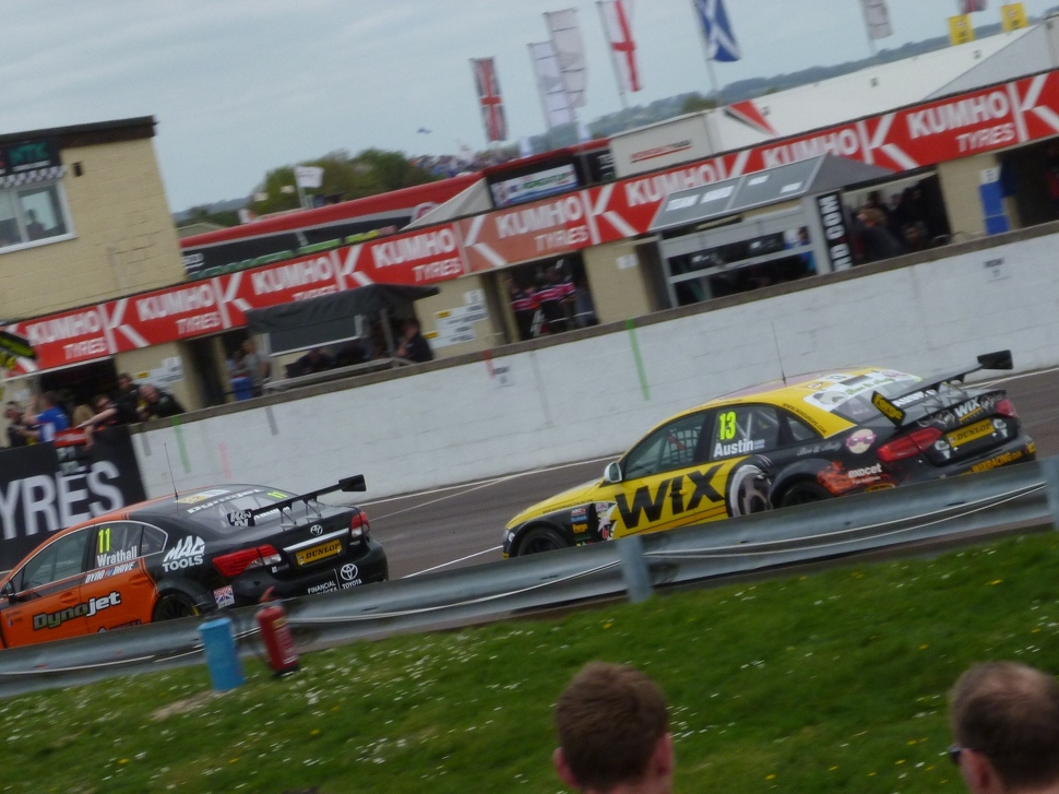 More action packed BTCC racing
