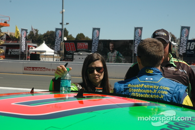Danica sighting.