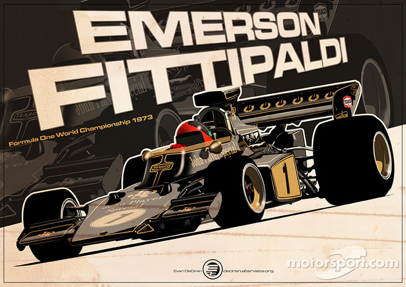 Emerson Fittipaldi - F1 1973