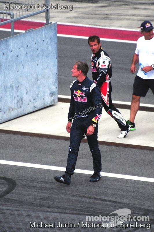 Coulthard, Loeb, Sainz