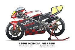 Honda RS125R - 1996 Haruchika Aoki