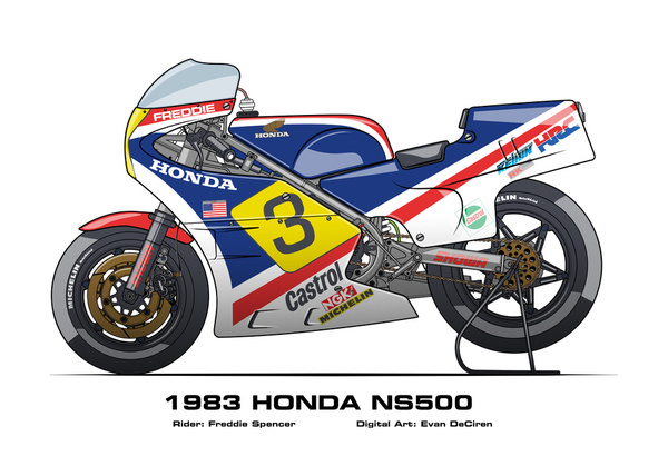 Honda NS500 - 1983 Freddie Spencer