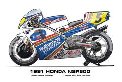Honda NSR500 – 1991 Wayne Gardner