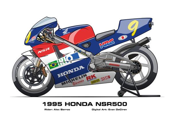 Honda NSR500 - 1995 Alex Barros