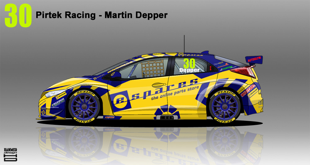 Pirtek Racing Honda Civic BTCC 2014 - #30