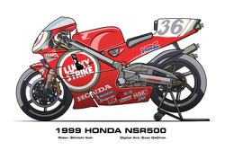 Honda NSR500 - 1999 Shinichi Itoh