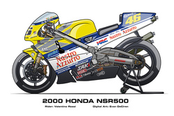 Honda NSR500 - 2000 Valentino Rossi