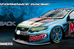 nickmossdesign.com - 2014 Supercheap Auto Bathurst 1000 Winners Pepsi Max Crew FPR Car 6 Livery