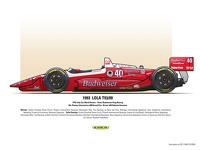 4th: Pioneer Electronics 200 Grand Prix - Driver: #40 Roberto Guerrero