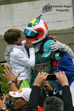Rubens Barrichello and sons