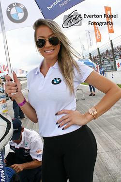Brazilian Moto 1000 GP championship, grid girl
