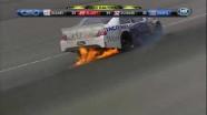 Gilliland Hits Wall Hard - Las Vegas Motor Speedway 2011