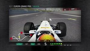 2011 Formula 1 European GP - 3D Simulation