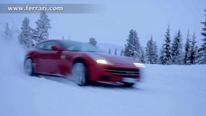 Markku Alen tests the FF on a snow-covered forest stage
