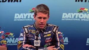 Daytona 500 Pole Winner Carl Edwards