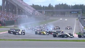 Formula Renault 3.5 Moscow News 2012 - Race 1