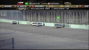 Jimmie Johnson's Cup Chase Ends - Homestead - 11/18/2012